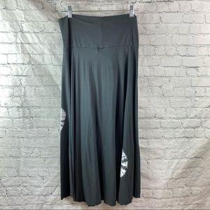 Soft Surroundings Tie Dye Cotton Pull On Skirt